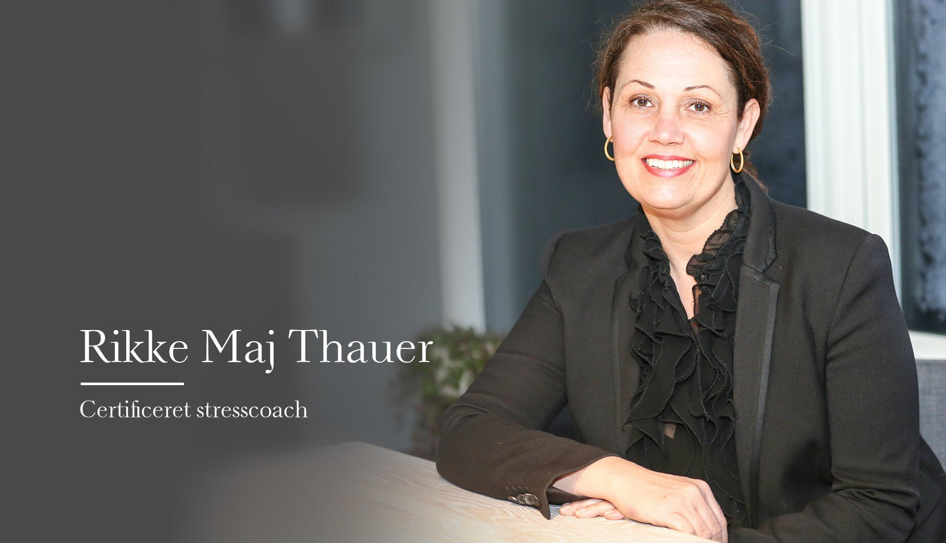 Rikke maj thauer - foredrag -stresscoach - speakerslounge