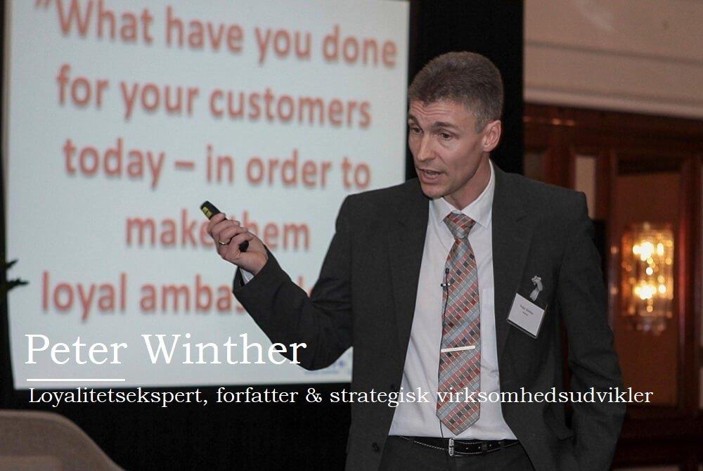 Speakerslounge, Peter Witnher, ænk loyalitet ind i hverdagen og virksomhedsstrategien →