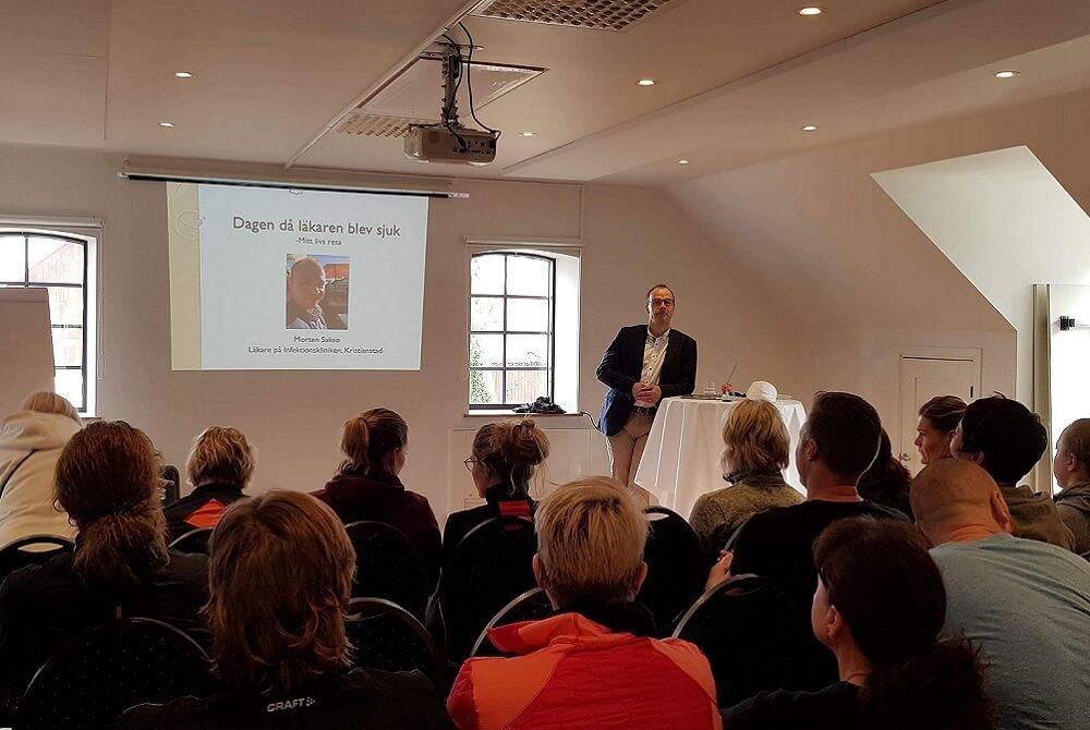 Morten Saksø, Speakerslounge, foredrag, foredragsholder, stress, angst, depression