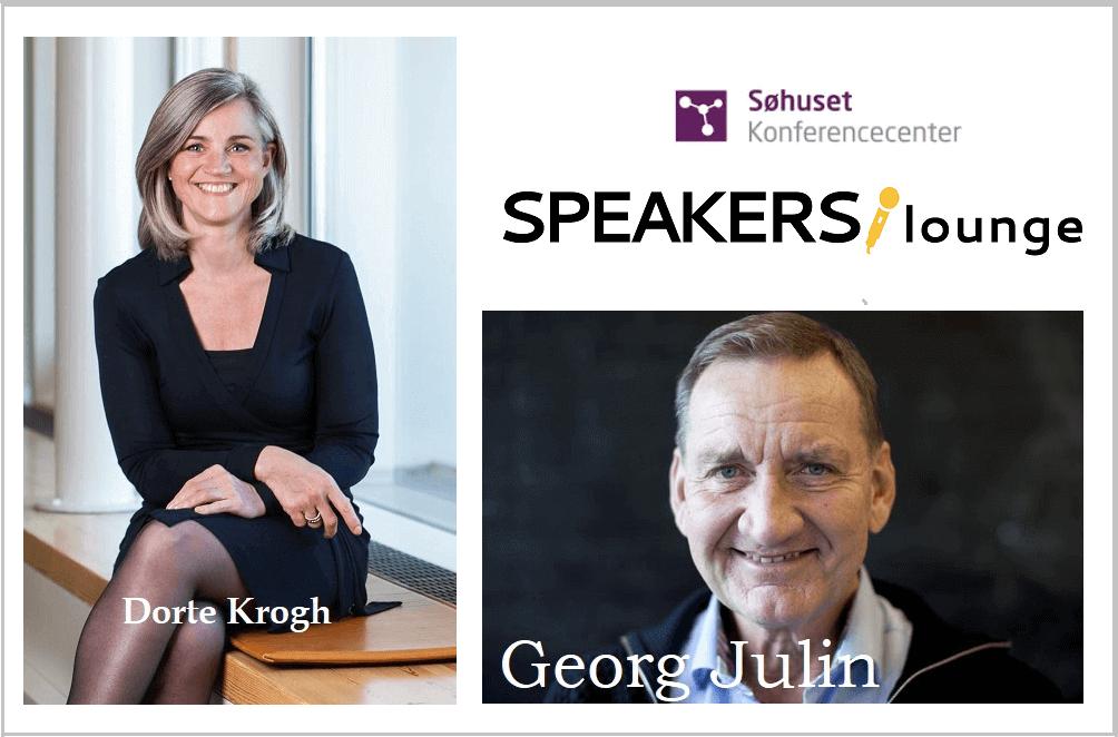 Er der tillid i rummet?, GRATIS FOREDRAG, SPEAKERSlounge, foredrag, Dorte Krogh, Georg Julin