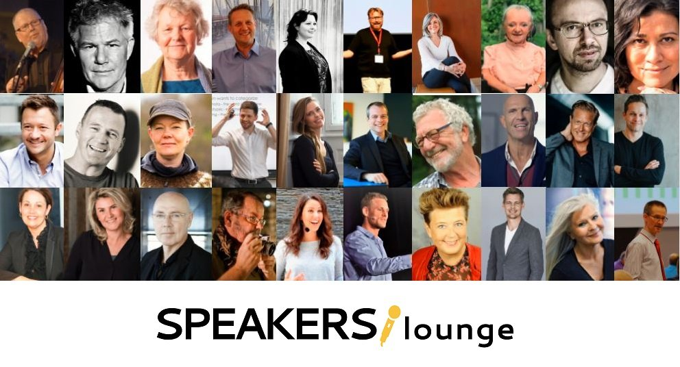 SPEAKERSlounge foredragsrække 2020, Foredragholdere, SPEAKERSlounge, tlf. 5380 9004