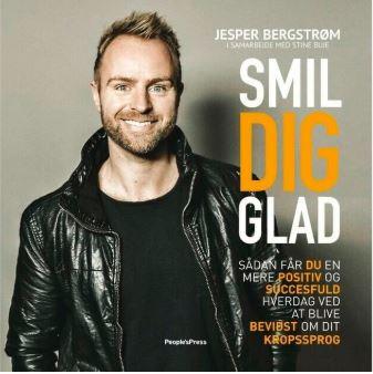 Smild dig glad, bog, Jesper Bergstrøm, SPEAKERSlounge foredrag